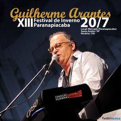 Card Facebook divulgação Show Guilherme Arantes na página Tudo in casa. Acesse a página no Facebook http://www.facebook.com/tudoincasa