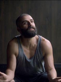 Oscar Isaac as Nathan Bateman in Ex Machina (2015)