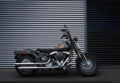 2009 Also new is the history-inspired Cross Bones, a bobbed factory custom. Harley Bikes, Harley Davidson Motorcycles, Harley Davidson History, Chopper Motorcycle, Choppers, Bikers, Wheels, Heaven, Horse
