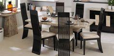 Rectangular Table & Set of 4 Gardena Chairs