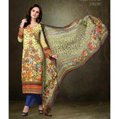 a8502a92a5 Designer Multicolor Pashmina Embroidered Unstitched Salwar Suit - 1401 (  MJ-Musc 14 ) Casual
