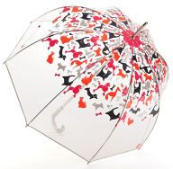 Cat clear dome umbrella