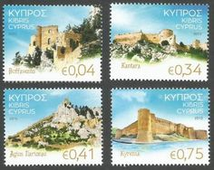 #Cyprus Stamps SG 2015 (J) #Castles of Cyprus - MINT
