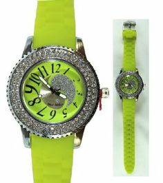 Neon Yellow Yin Yang Paul Jordan Watch - Silicone Wristband Watch Paul Jordan. $13.99