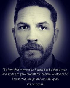 Tom Hardy - sober since Sober Quotes, Sobriety Quotes, Recovery Quotes, Life Quotes, Addiction Quotes, Addiction Recovery, Addiction Help, Tom Hardy Quotes, Sober Celebrities