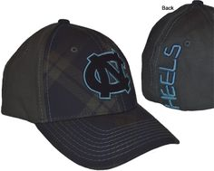 UNC- Zephyr Tartan Hat  $21.99  Conference Apparel & College Sports Apparel - Conference Wear - Salisbury, North Carolina College Hats, Sports Apparel, Salisbury, Priority Mail, Sport Outfits, North Carolina, Tartan, Conference, How To Wear