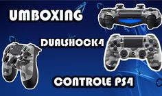 UMBOXING DUALSHOCK 4 CAMUFLADO controle ps4 Playtation 4