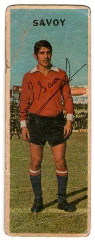 1968 Raul Armando Savoy - Club Atlético Independiente de Avellaneda