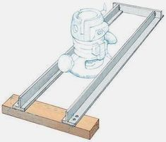 Router Dado Jig In the course of my work as a contractor, I often need to build cabinets and bookshelves on site – without the luxury of shop tools. I gave up on the flimsy router fence supplied with…MoreMore #WoodworkIdeas #woodworkingtips