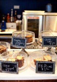 doughboy bake shop west village, I like the little chalkboard for the descriptions & pricing