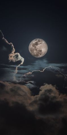 Night, clouds and moon, sky Wallpaper - moon photography Moon Wallpaper, Night Sky Wallpaper, Dark Wallpaper Iphone, Wallpaper Space, Scenery Wallpaper, Cute Wallpaper Backgrounds, Galaxy Wallpaper, Weather Wallpaper, Disney Phone Backgrounds