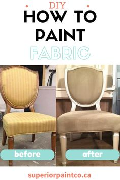 How to update your dinging chairs with chalk painting your fabric using Superior Paint Co. Chalk Painting, Fabric Painting, Paint Upholstery, Modern Masters, Chalk Paint Furniture, Cow Print, Dry Brushing, Painting Cabinets, Metallic Paint