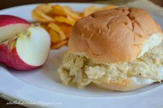 Chicken Supreme Sandwiches  Recipe, by Stella B's Kitchen.  Full of comfort ingredients: Velveeta, sour cream, can of cream of chicken soup, mmm. I'd serve on toasted sourdough.
