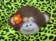 Items similar to Year of the monkey felted wool bag on Etsy Felted Wool, Wool Felt, Monkey Bag, Year Of The Monkey, Trending Outfits, Hats, Unique Jewelry, Handmade Gifts, Vintage