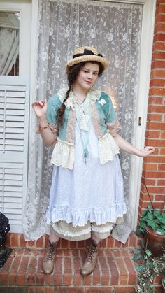 Romantic Cowgirl Jacket French Chic Lace by BerthaLouiseDesigns