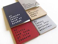£5 from www.alfamarama.etsy.com   Hand screen printed MOLESKINE notebooks by Alfamarama.  #notebook #notebooks #journal #journals #moleskine #coolgift #stationery #paper #notepad #sketchbook #funny #funnyquote #minimalistic #industrial #design #hipster #backtoschool #smallgift #gaggift #birthdaygift #celebrationgift #graduationgift #cahier #cuaderno #stationery #notizbuch #quaderno #cuaderno #quadern #notesbog #notitieboekje #notes #anteckningsblock #notisbok