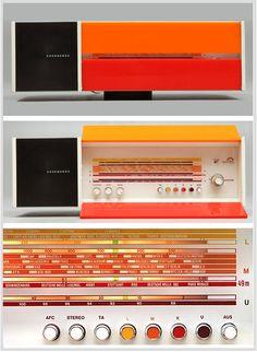 Raymond Loewy, Nordmende Radio Spectra Futura, 1968-70. Germany