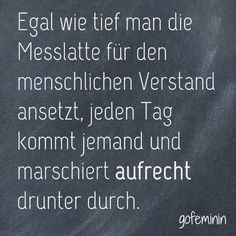 #spruch #zitat #sprüche #lustig Noch mehr coole Sprüche gibt's bei gofeminin.de! Funny Pix, Funny Facts, Funny Jokes, Jokes Pics, Jokes Quotes, The Funny, Funny Pictures, Best Poems, Best Quotes