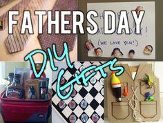 DIY gift ideas for Dad!