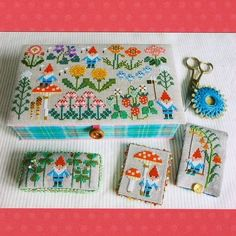 Gera! Japanese Cross Stitch Patterns | The Eternal Maker