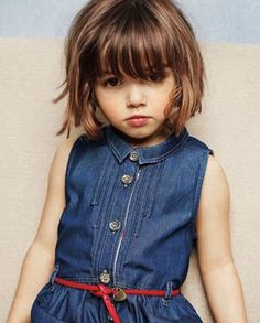 15 Captivating Little Girl Haircuts with Bangs – HairstyleCamp Baby Hair Style baby girl hair style cutting Little Girl Short Hairstyles, Bob Haircut For Girls, Flower Girl Hairstyles, Haircuts For Little Girls, Bob Style Haircuts, Short Haircuts With Bangs, Cute Haircuts, Haircut Short, Haircut Bob