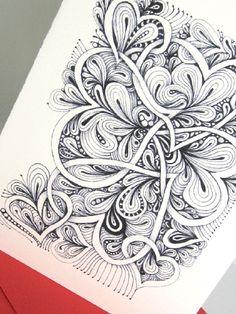 A valentine tangle...