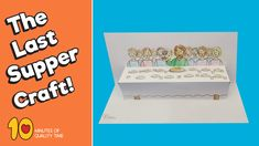 The Last Supper Craft - Bible Activities for Kids Bible Activities For Kids, Bible Crafts For Kids, Bible Study For Kids, Preschool Bible, Sunday School Crafts For Kids, Bible School Crafts, Sunday School Activities, Sunday School Lessons, Children's Church Crafts
