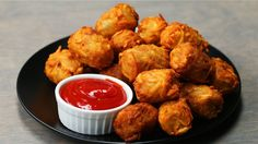 Chili Cheese-Stuffed Tots