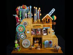 Photo of the National Gingerbread House Competition - Adult 3rd Place Tied Winning Entry 2013