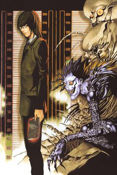 Death Note Manga Poster