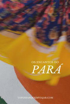 Conheça os encantos do Pará, um estado rico em cultura, gastronomia, e tradição! Tô pensando em viajar, e você?