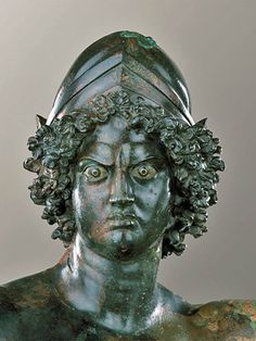 bronze statue of Mars was found in southern Turkey and dates from the Roman era. http://classic.cca-roma.org/it/node/61