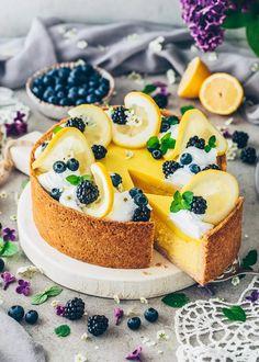 Lemon Cheesecake Pie Recipes, Dessert Recipes, Lemon Cheesecake, Lemon Curd, Sweets, Healthy, Food, Healthier Desserts, Instagram