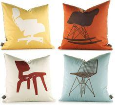 Eames Chair Pillows