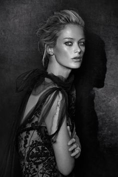 Carolyn Murphy by Peter Lindbergh for the CFDA Journal 2013