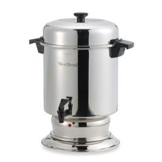 The WestBend® 55 Cup Commercial Stainless Steel Coffee Maker Urn - BedBathandBeyond.com
