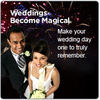 Weddings become magical