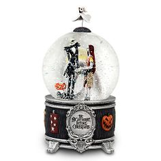 Jack & Sally Snow globe Nightmare Before Christmas