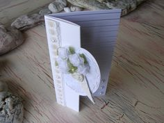 White Wedding Anniversary Card White Roses Flower by 4SeasonCards, €5.00