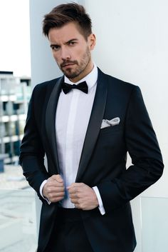Ferrari Formalwear & Bridal | Wedding | Wedding Fashion | Classic Tuxedo | Black Tie | Bow Tie