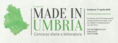 """al via la seconda edizione del concorso """"Made in Umbria"""", indetto dall'UNSA, dedicato ad artisti ed autori residenti in Umbria"""