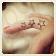 Finger tattoo :) next one I get is going on my finger :)