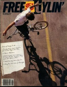 Freestylin' magazine,issue 48 - May 1989 / Kevin Jones on the cover