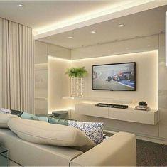 Construindo Minha Casa Clean: Decoração e Projeto de Salas Integradas com Varanda Gourmet - Moderna e Clean!