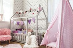 montessori toy, wood furniture, montessori bed full, bedroom, twin bed frame, wooden house, pine, wooden bed frame, baby bed, wood bed, house, wood house, twin bed bumper, twin bed, toddler bed plans, crib floor bed, wood bed frame, children's furniture, indoor Toddler Floor Bed, Toddler Bed Frame, Toddler House Bed, Kids Bed Frames, Kids House, Bed Without Slats, Unique Baby Cribs, Toddler Furniture, Children Furniture
