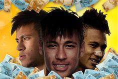 matéria da rede immo neymar11 O mundo encantado de Neymar jr. ! #neymar
