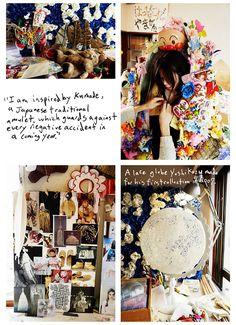 Yoshikazu Yamagata (Writtenafterwards), Fashionable Selby. Photo © Todd Selby, Abrams Books.