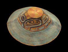 PEM   Native American Art « Collections : Spruce - Root hat before ca 1829 : Tlingit ( Southeastern Alaska )