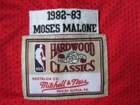 Philadelphia 76ers Cheap NBA #2 Red Moses Malone 1982-83 Throwback Jersey [G201]