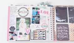 Create Well Create Often: Heidi Swapp - July Memory Planner Pages